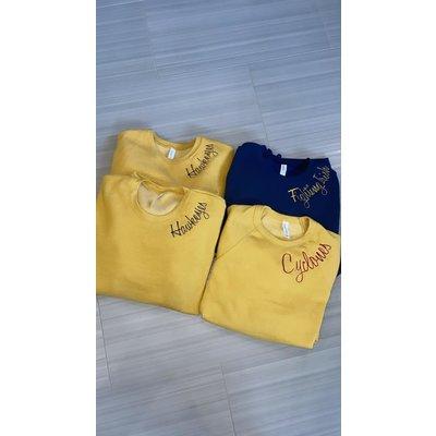 Custom Embroidered Team Sweatshirts