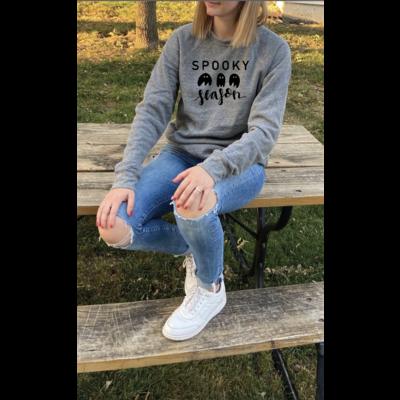 Spooky Ghost Season Crewneck Sweatshirt