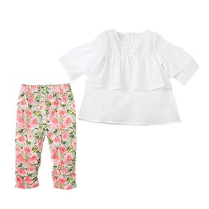 Mud Pie FLORAL TUNIC LEGGINGS SET