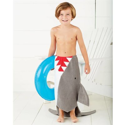 Mud Pie SHARK TOWEL