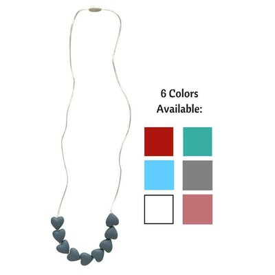 Little Teether Amore Teething Necklace