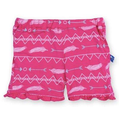 Kickee Pants Print Ruffle Short