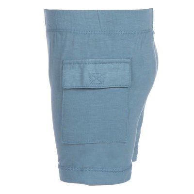 Kickee Pants Solid Cargo Short (Dusty Sky)
