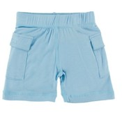 Kickee Pants Solid Cargo Short (Pond)