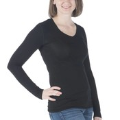 Kickee Pants Basic Women's Long Sleeve One Tee (Midnight)
