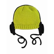 Trumpette HEADPHONEHAT.OLIVE.BABY