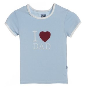 Kickee Pants Pond I Love Dad Tee