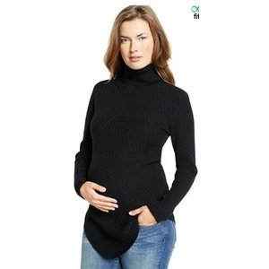 Maternal America CASHMERE TURTLE NECK SWEATER.XS