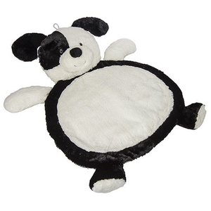 MARY MEYER Black & White Puppy Baby Mat
