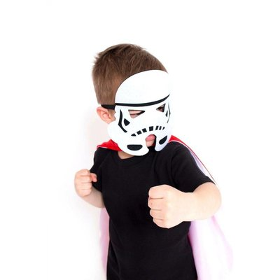 Lincoln&Lexi Superhero Cape-Stormtrooper