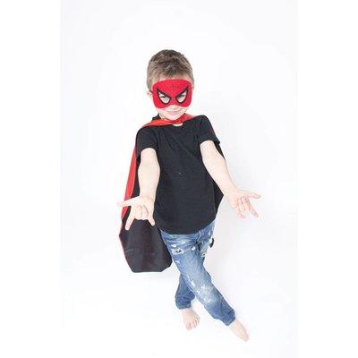 Lincoln&Lexi Superhero Cape & Mask Set-Spider Man