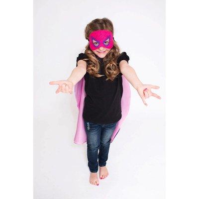 Superhero Cape & Mask Set-Spider Girl