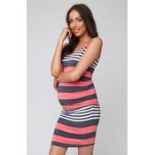 Stripe Nursing Dress