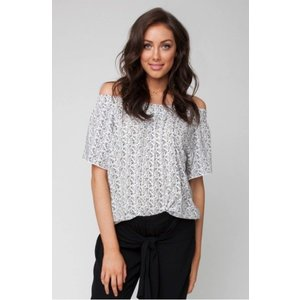 Ripe Maternity Plantation Cold Shoulder Top