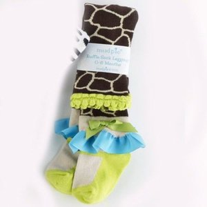 Mud Pie Giraffe Tights
