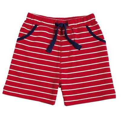 Mud Pie STRIPED PULL-ON SHORTS