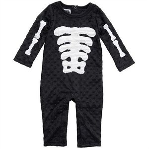 Mud Pie Skeleton One Piece
