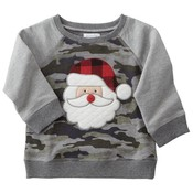Mud Pie CAMO CHRISTMAS SWEATSHIRTS