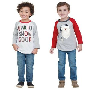 Mud Pie ALPINE RAGLAN T-SHIRTS