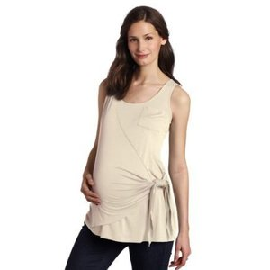Maternal America Side Wrap Tank