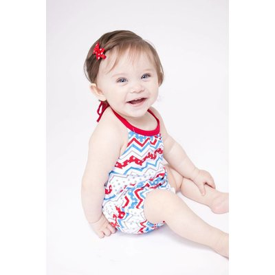 Lincoln&Lexi Little Miss Independence Romper