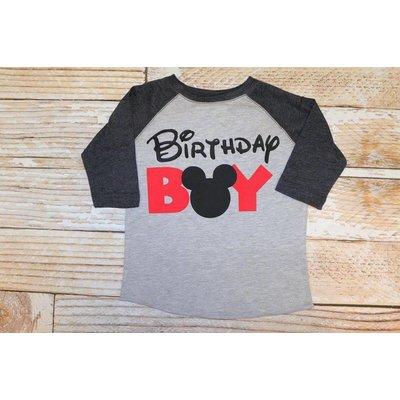 "Lincoln&Lexi ""Birthday Boy Mickey"""