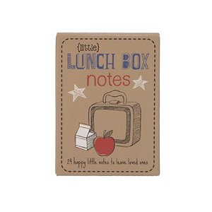 CR GIBSON lunchbox notes