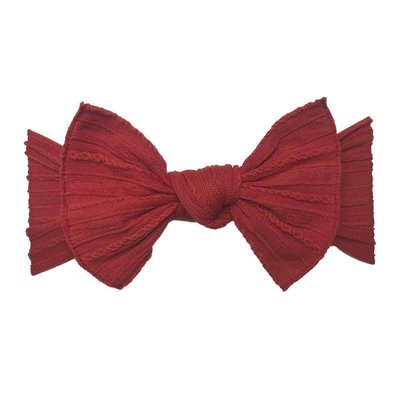 Baby Bling Cable Knit Knot (Cherry)