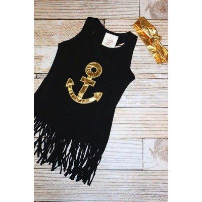 Anchors Away Fringe Dress & Headband