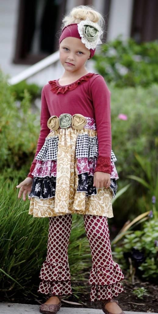 Gigglemoon Gracie Dress W Ruffle Leggings Lincoln Amp Lexi