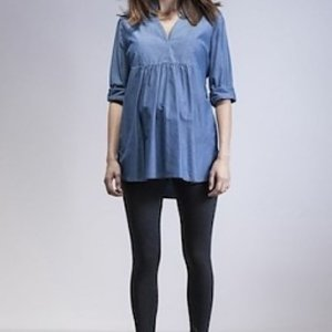 Isabella Oliver Chambray Tunic