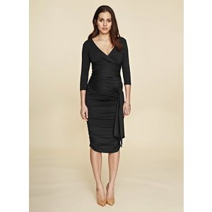 Isabella Oliver Ruched Wrap Dress