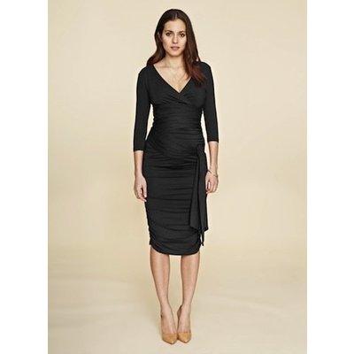 Isabella Oliver Ruched Wrap Dress