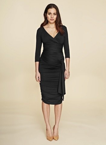 6065dc59220 Isabella Oliver Ruched Wrap Dress - Lincoln Lexi