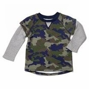 Camo French Terry Shirt