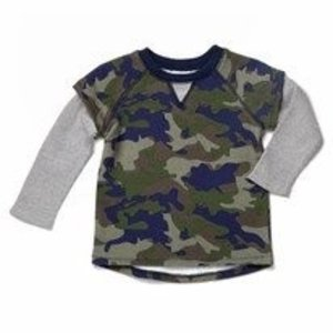egg Camo French Terry Shirt