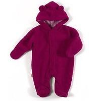 Magnificent Baby Smart Little Bears Raspberry Fleece