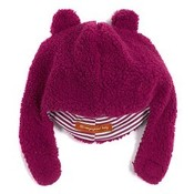 Magnificent Baby Smart Little Bears Raspberry Fleece