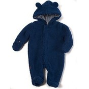 Magnificent Baby Smart Little Bears Blueberry Fleece