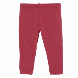 Kickee Pants Solid Girl's Performance Jersey Legging (Flag Red)
