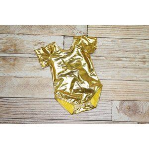 Lincoln&Lexi Unicorn Leotard - Gold