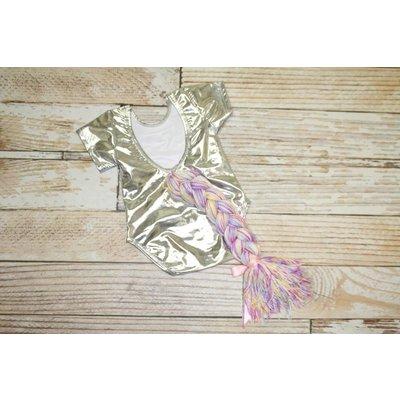 Unicorn Leotard - Silver