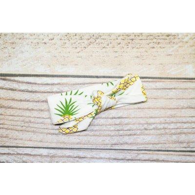 Lincoln&Lexi Baby Burrito Wrap & Headband - Pineapple
