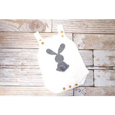 Lincoln&Lexi Little Bunny Cotton Tail - Cream