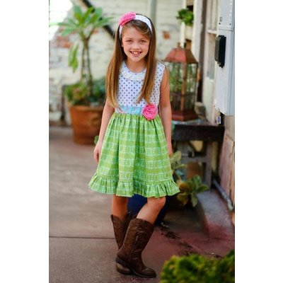 Giggle Moon Leah Dress - Children Of Love