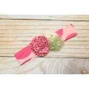 Knit Headband - Garden Of Love