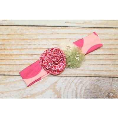 Giggle Moon Knit Headband - Garden Of Love