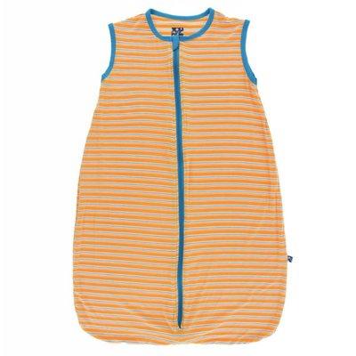 Kickee Pants Print Lightweight Sleeping Bag (Tamarin Brazil Stripe)