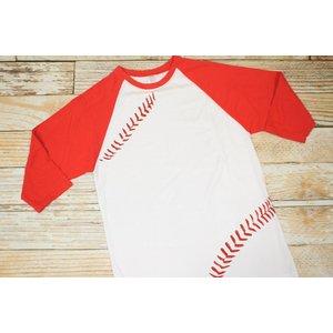 Baseball Tee- Adult XL