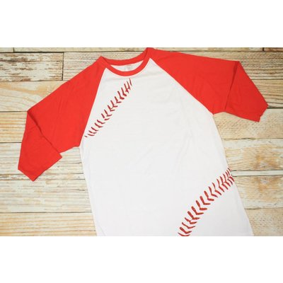 Lincoln&Lexi Baseball Tee- Adult XL